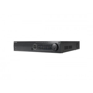 DS-7716NI-ST   Up to 16-ch IP cameras input • Third-party network cameras supported • Up to 6 Megapixels resolution recording • HDMI and VGA output at up to 1920×1080P resolution • HDD quota and group management • 4 SATA, 2 USB2.0