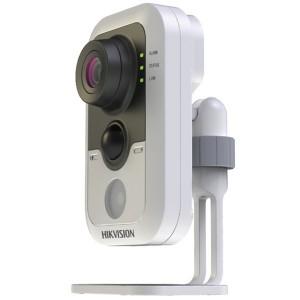 DS-2CD2420F-IW Dayələrə Nəzarət kamerası • HD1080p Video • Up to 10m IR  • PIR • DWDR/3D DNR/BLC  • Support On-board Storage, up to 128GB • Built-in Wi-Fi optional