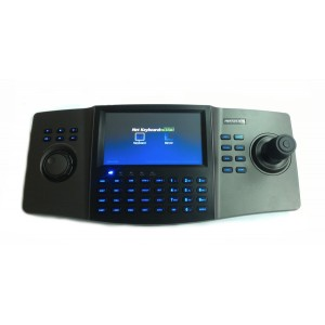 ds-1100ki  Ergonomic design with 800×480 LCD touch panel  .Compatible with DVR/DVS, matrix, network camera/dome, PC-DVR, etc. • Support 15 operators, and each user is allowed to operate 256 devices